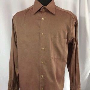 Ermenegildo Zegna Mens Size 41/16 Dress Shirt